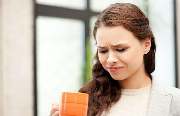 Нередко кофе провоцирует изжогу