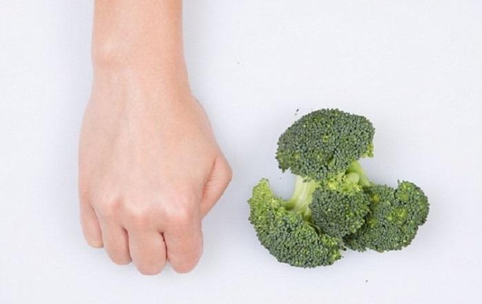 Размер порции на один прием пищи