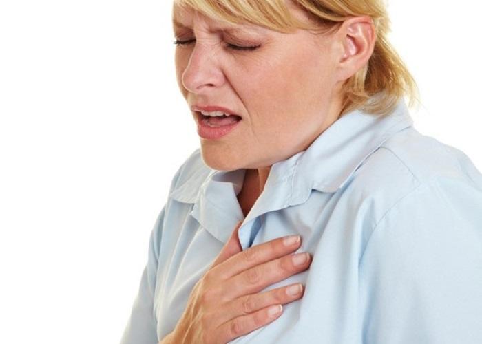 Чувство жжения за грудиной