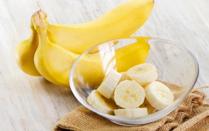 В бананах присутствует целый комплекс витаминов