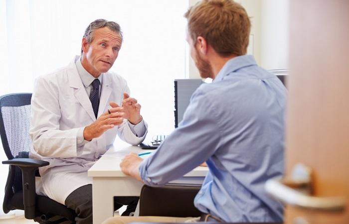 На приеме у врача-гастроэнтеролога