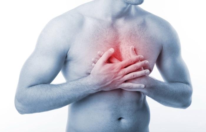 Боль, локализующаяся за грудиной