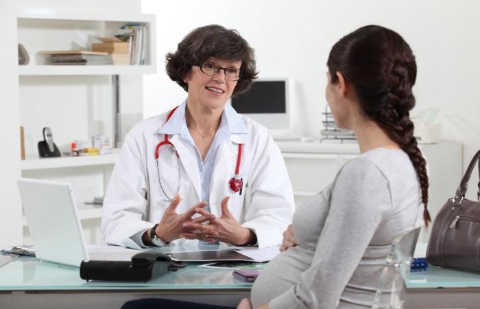 На консультации у акушер-гинеколога