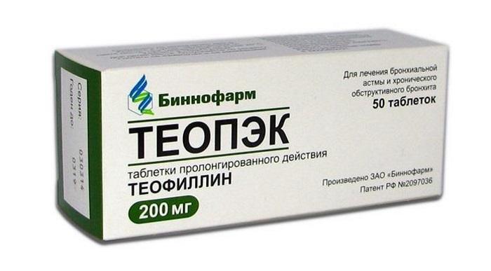 Одно из побочных действий теофиллина – гастроэзофагеальный рефлюкс