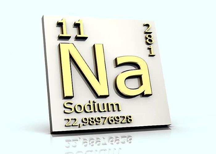 Натрий – минеральный элемент