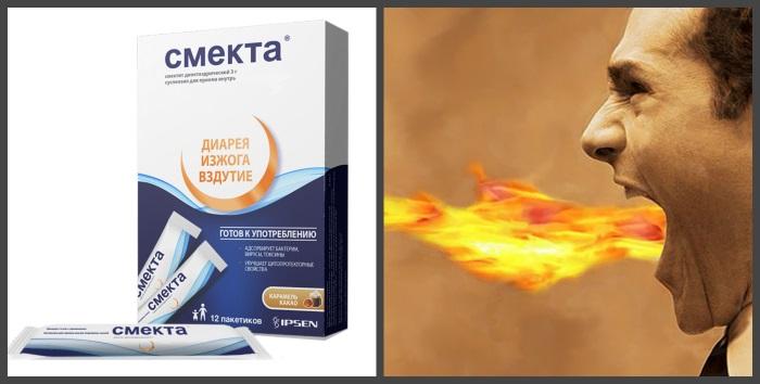 Смекта – лекарственное средство природного происхождения
