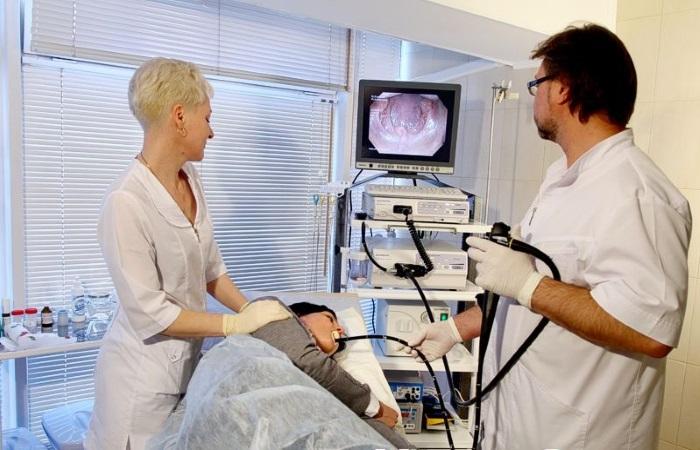 Эндоскопическое исследование пищевода и желудка