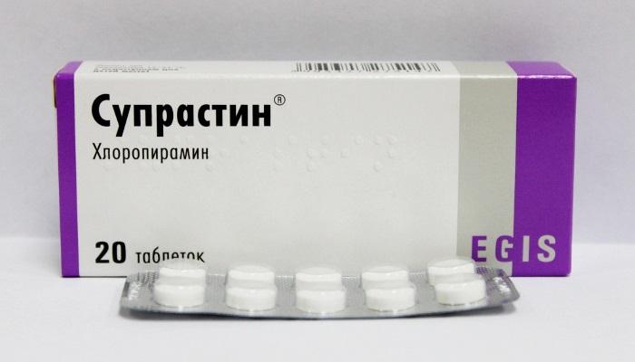 Противоаллергическое лекарственное средство