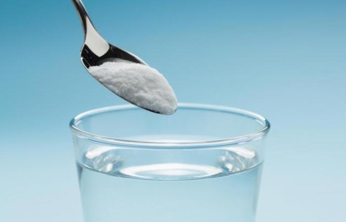 Приготовление водного раствора бикарбоната натрия