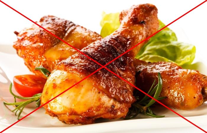 Жареная пища противопоказана при заболеваниях ЖКТ