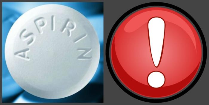 Аспирин далеко не безобидный препарат, как многие о нем думают