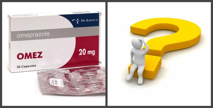 Омез по разному взаимодействует с различными препаратами