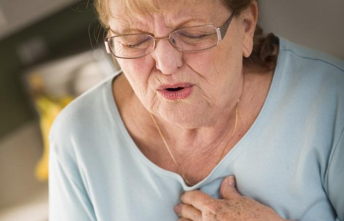 Боль в грудной клетке и одышка