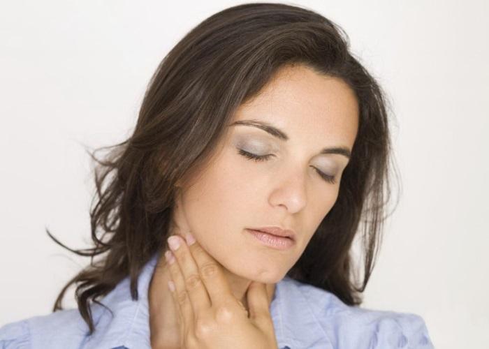 Нарушение глотания при спазме пищевода