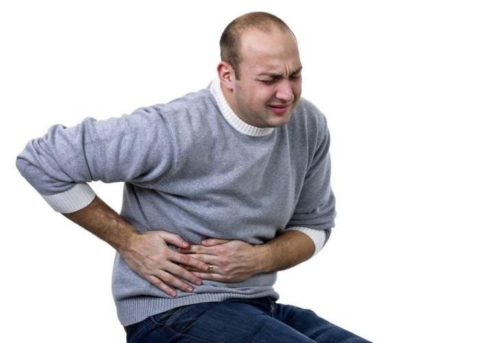 Пациент, страдающий желчно-каменной болезнью