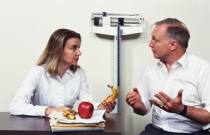 На консультации у диетолога