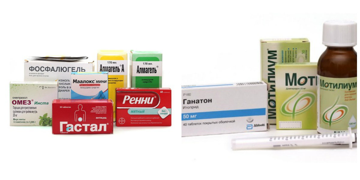 Медикаментозное лечение рефлюкс-эзофагита