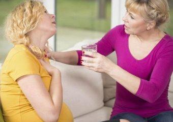 Лекарственные средства и народные рецепты при изжоге у беременных