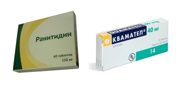 Противоязвенные препараты