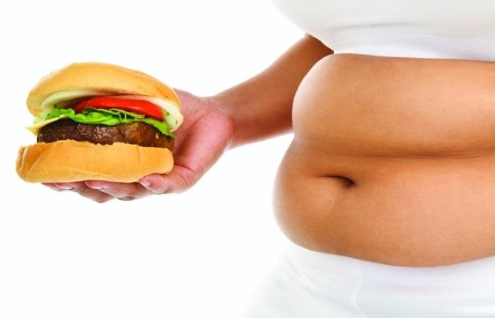 Лишний вес – один из факторов риска возникновения изжоги