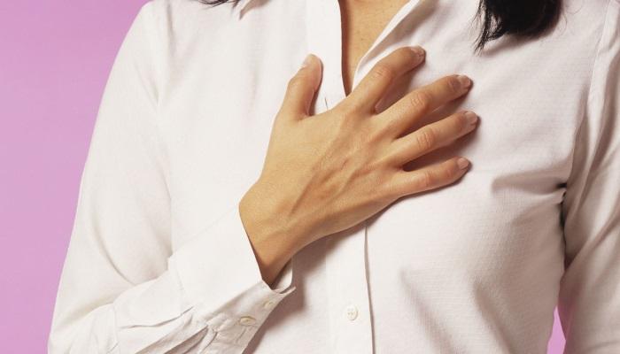 Жгучая боль за грудиной